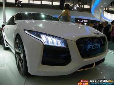 HYUNDAI BLUE DRIVE ECO DRIVING CONCEPT CAR
