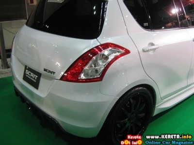 MODIFIED SUZUKI NEW SWIFT 2011 BODYKIT