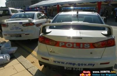 PDRM POLICE CAR KERETA POLIS MALAYSIA LANCER EVOLUTION 400x260