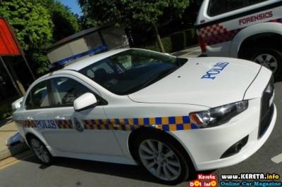 PDRM POLICE CAR - KERETA POLIS MALAYSIA LANCER GT PATROL CAR