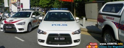 PDRM POLICE CAR - KERETA POLIS MALAYSIA MITSUBISHI