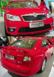SKODA OCTAVIA RS 2.0TSI DSG SPECIFICATION