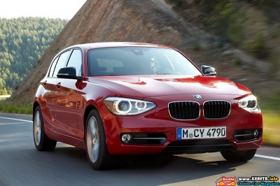 2012 bmw 1 series hatchback front angle view 400x266