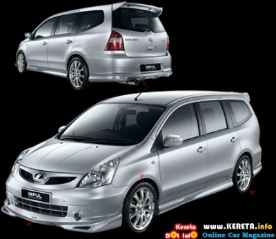 FACELIFTED NEW GRAND LIVINA IMPUL SPORTS TUNE