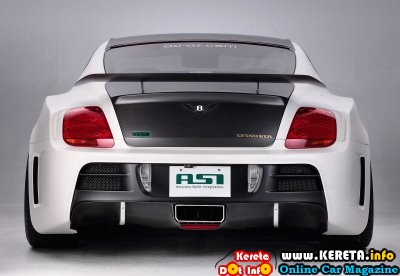 CUSTOMIZED BENTLY CONTINENTAL GT