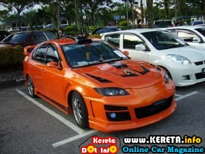 EXTREME MODIFIED PERSONA RX8 CUSTOM BODYKIT