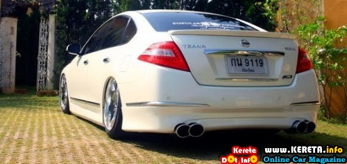 NISSAN TEANA MODIFIED BODYKIT - KING OF COMFORT