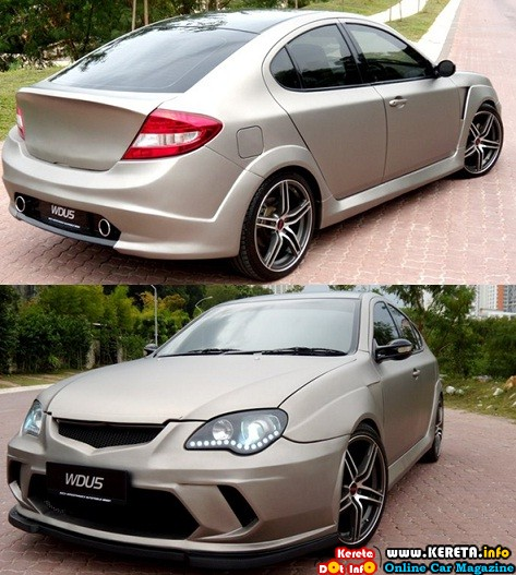 PROTON GEN-2 CUSTOM BODYKIT UNIQUE MODIFICATION