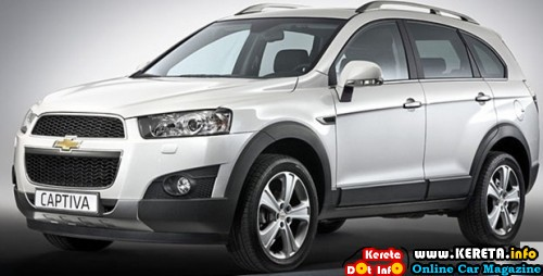 NEW CHEVROLET CAPTIVA - BETTER FEATURES, POWER MALAYSIA SUV 7 SEATER