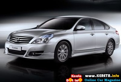 NEW NISSAN TEANA WITH AEROKIT bodykit