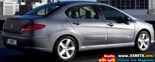 PEUGEOT 308 SEDAN T73 WILL BE LAUNCHED 2012