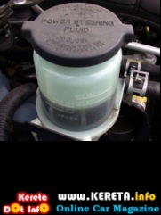 power steering oil fluid level check