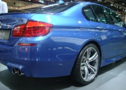 2012 BMW M5 - rear side