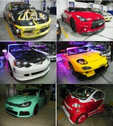 honda import night autoshow