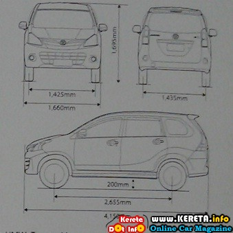 ALL NEW TOYOTA AVANZA 2012 SPEC BROCHURE PRICE LIST SPECIFICATION E G
