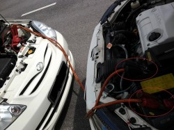 HOW TO JUMP START USING JUMPER CABLE