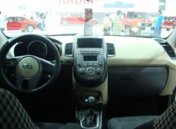 Kia Soul - dashboard