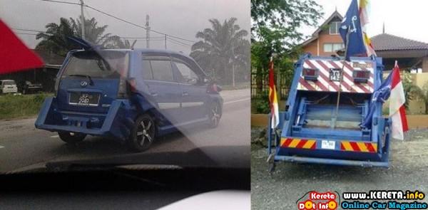 modified perodua viva bodykit custom
