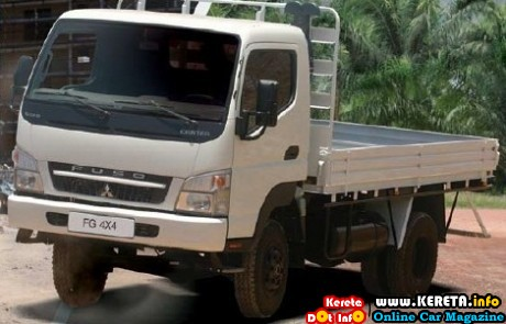 NEW MITSUBISHI CANTER FUSO 3.9 LITRE TURBO 4X4 TRUCK