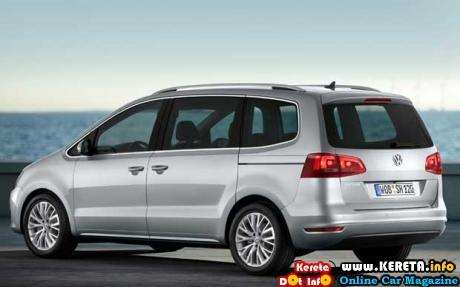 VOLKSWAGEN MPV - VW SHARAN 2.0 TSI