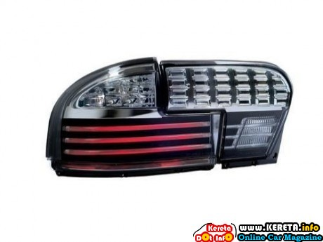 EAGLE EYES PROTON WIRA 93-06 GCi LIGHT BAR FULL SMOKE TAIL LAMP RM480