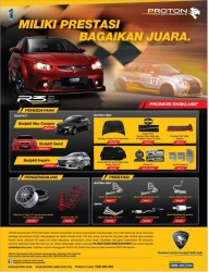 Proton r3 performance parts price list brochure