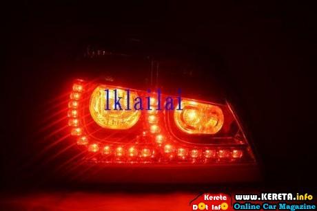 WAJA LED TAIL LAMP GOLF GTI RM300