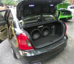 MODIFIED HYUNDAI ACCENT BODYKIT VIP SKIRTING