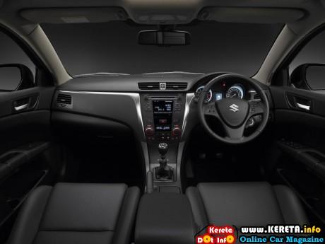 Suzuki-Kizashi-interior