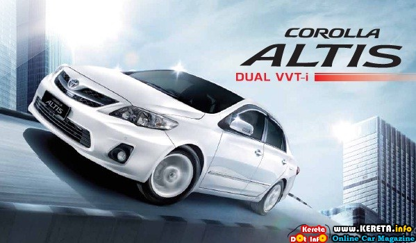 TOYOTA COROLLA ALTIS DUAL VVT-i PRICE AND SPECIFICATION