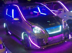 modified viva led autoshow