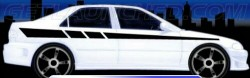 wpid Car stripe decal 250x78