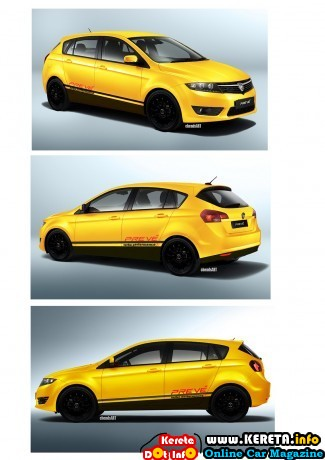proton preve hatch back