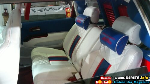 wpid Modified honda odyssey mpv vip leather seat wrap