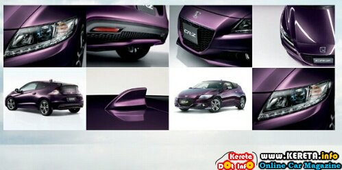wpid New honda cr z baru spec body kit purple