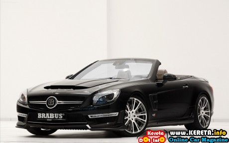 BRABUS 800 Roadster based on the Mercedes SL 65 AMG 2013 widescreen 10 460x287