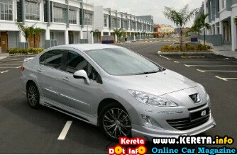 modified peugeot 408 body kit skirting spoiler