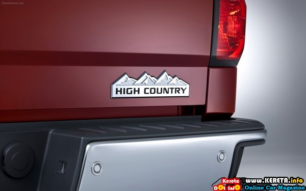 chevrolet silverado high country 2014 widescreen 11 600x375