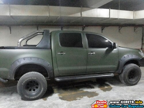 wpid modified toyota hilux 4wd big wheels sport rim bodykit pickup truck
