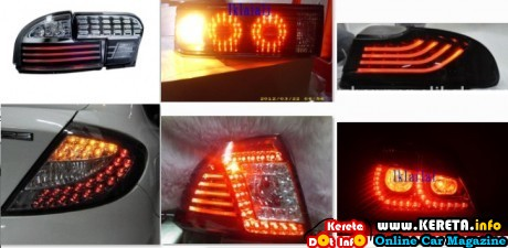 PROTON LED TAIL LAMP LIGHT GCI BAR CCFL NEW LATEST