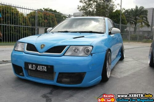 MODIFIED PROTON WAJA VIP LOWERED RIDE