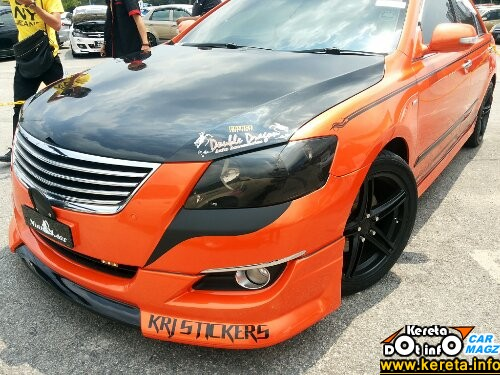 wpid Modified camry sport rim rota new toyota camry modified bodykit bumper02
