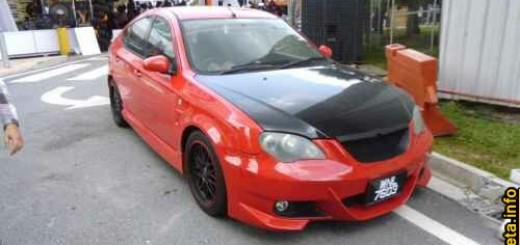 modified gen2 merah dengan bmw bumper skirting~02.JPG