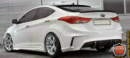 modified hyundai elantra md 2014 body kit bumper custom skirt spoiler rim.jpg