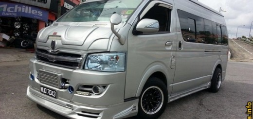 modified toyota hiace vip van transporter body kit bumper skirt rim~02.jpg