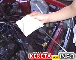 engine oil check 1