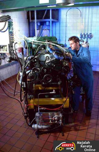 engine dyno test cell