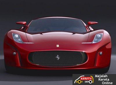 Kereta Konsep Ferrari Menggantikan F430