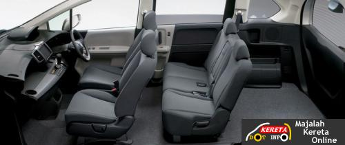 honda freed interior