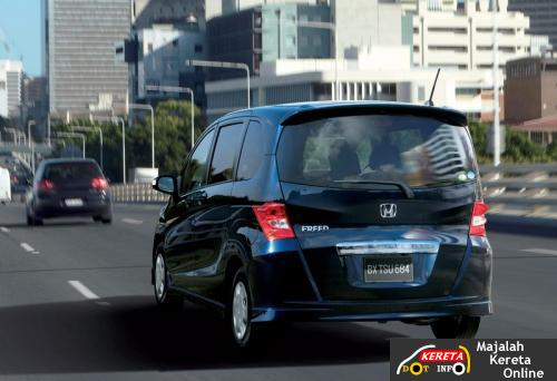 honda freed mini van